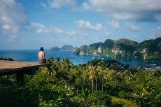 Overlooking Koh Phi Phi