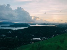 The view from the top of Coron.